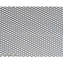 Universal black mesh, aluminium