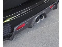 F55 and F56 carbon rear diffuser for all JCW bumpers