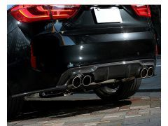 3D Design carbon rear diffuser for all F86 X6M models