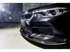 3D Design Carbon Front Lip Spoiler for BMW 5 Series F90 M5