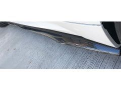 MStyle Carbon Fibre P Style Side Skirt Extensions for F87 M2 BMW 2 Series