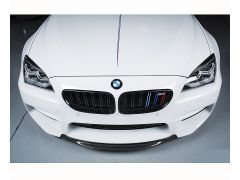 F06, F12 and F13 M6 carbon front splitter