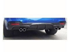 F34 MStyle performance rear diffuser with quad exhaust