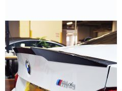 MStyle Carbon performance boot spoiler for F82 M4 models