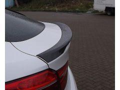 F16 X6 carbon tailgate rear spoiler