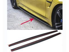 Mstyle performance Carbon side skirt splitters F82 & F83 M4