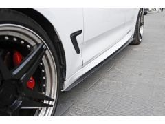 MStyle carbon side skirt extensions for F34 GT models