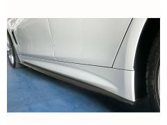 MStyle carbon side skirt extensions for all 4 series F36 GC models