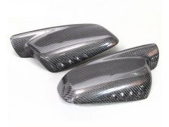 Carbon fibre replacement mirror covers for all E46 2dr models and E65/66 models