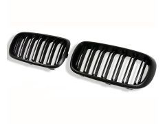 Matte black twin spoke grille set - F15 F16 F85 F86