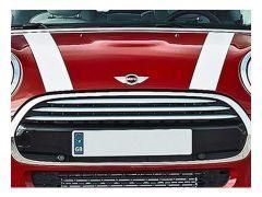 F55/F56 White bonnet stripes