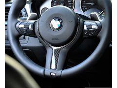 Carbon Fiber M-Sport Steering Wheel Trim - F22 M-Sport | F30/ F31 M-Sport | F32 M-Sport | F06/ F12/ F13 M-Sport | F15 X5 M-Sport
