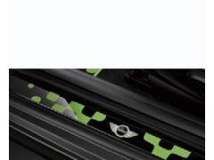 F55 LED Mini door entry strips Vivid Green