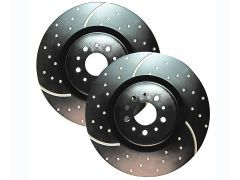 F32 and F33 grooved and drilled front discs for all 420D, 420i and 428i models