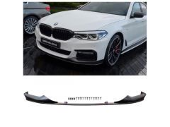 G30 G31 MStyle  Performance Front Splitter Matte Black for BMW 5 Series
