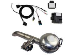 ActiveSound V8 Exhaust inc. sound booster - E70 Diesel Models