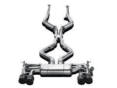 Akrapovic Evolution Line exhaust system for all X5M E70