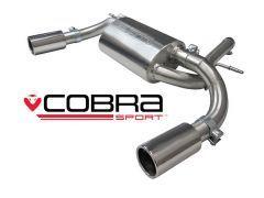 Cobra dual exit rear silencer