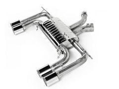 Eisenmann Performance rear silencer for all F85 X5M and F86 X6M models