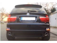 Eisenmann  rear section with 2 x 120 x 77 mm tailpipes for 3.0i