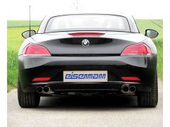 Z4 E89 Eisenmann quad rear exhaust, with 4 x 76 mm tailpipes for all Z4 35i and si models