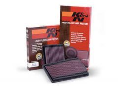 K&N air filter, 2.0