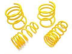 KW ST lowering spring set for all F23 2 series convertible 218i, 220i, 228i, 220d
