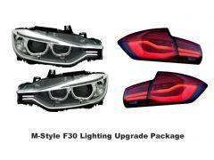 F30 Angel Eye Headlamp and LCI Taillight Package
