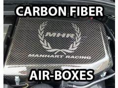 Manhart Racing Carbon Fibre airbox for E92, E93, E90 M3