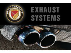 Manhart Racing Downpipes for X5M