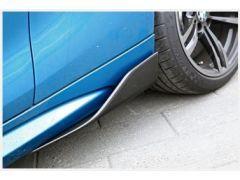 F87 Carbon Fibre Sideskirt Winglets