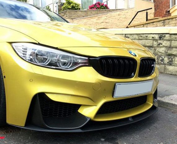 F8X M3 and M4 performance full front splitter