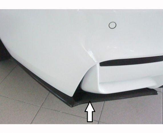 F80, F82, F83 M3/M4 Rieger carbon fibre Rear bumper extensions