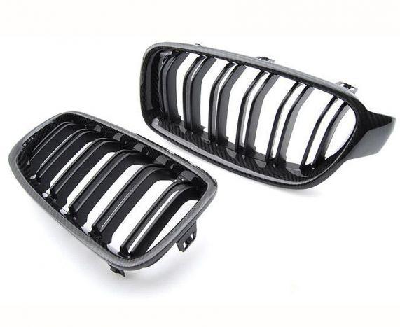 Carbon fibre front grilles for all F8X M3/M4 models