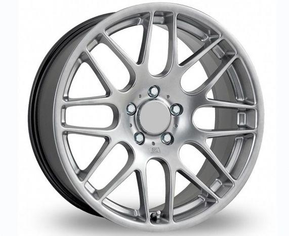 CSL Style Wheel Set in silver