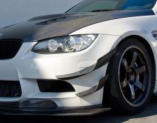 MStyle Front Bumper Canards - E9x M3