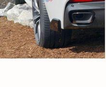 F16 X6 carbon rear side splitters