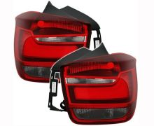 F20, F21 LED Design taillight set Red/Smoked