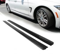 F32 F33 carbon side skirt extensions