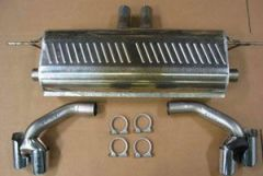 Eisenmann rear sections with 4 x 83 mm tailpipes for all E70 X5 4.8i