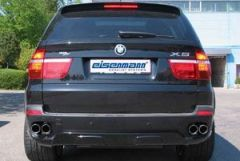 Eisenmann rear section with 4 x 80 mm tailpipes for 3.0si