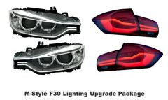 F30 Angel Eye Headlamp and LCI Taillight Package