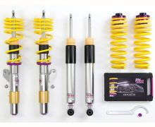 KW V3 Inox line coilover kit for all E63 and E64 M6 models with cancellation kit