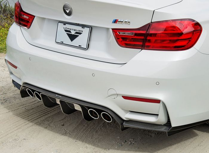 Vorsteiner Gts Carbon Rear Diffuser For All F8x M3 And M4 Models